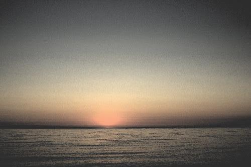 Sunrise in watercolor