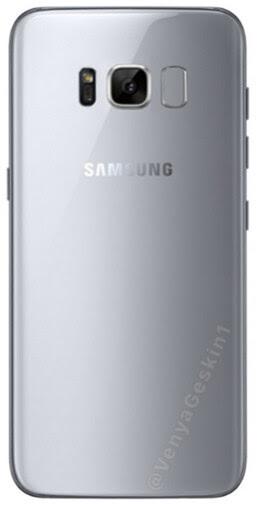 Samsung Galaxy S8 press renders