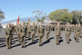 Entrega de diplomas al valor reconocido en el RIL 'Tenerife' nº 49.