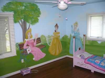 Decoración de Princesas para habitación de niña   Planeta Niñas