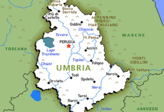 Cartina Dell Umbria Fisica.Cartina Muta Umbria Da Stampare Stampae Colorare