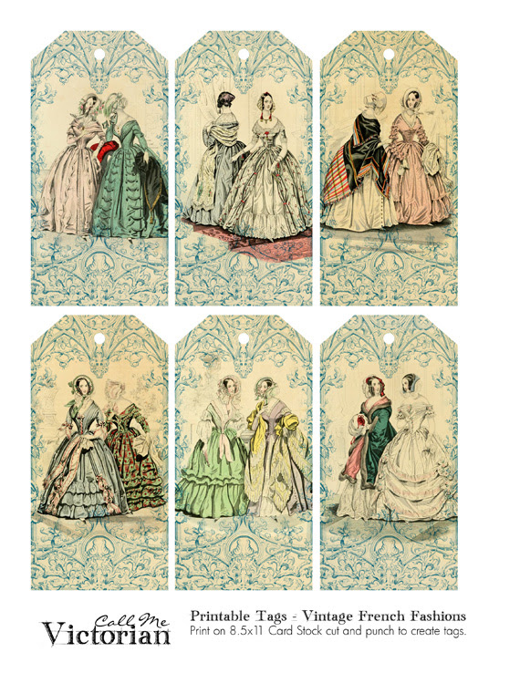http://callmevictorian.com/1312/printable-tags-vintage-french-fashions/