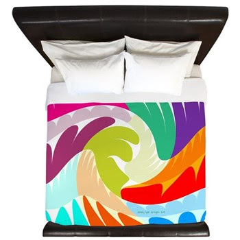 Easter Omelet King Duvet