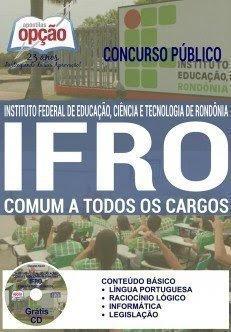 Apostila Concurso IFRO Rondônia (RO) 2015