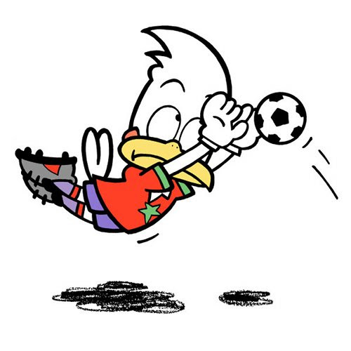 サッカーイラスト かわいい Nonちゃんイラストブログ