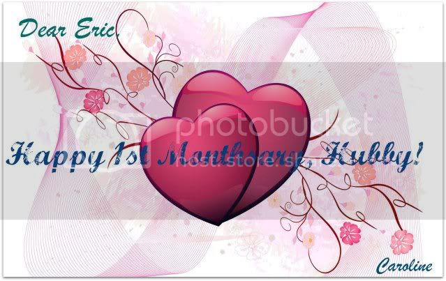 1stMonthsary.jpg picture by Kawaiirol