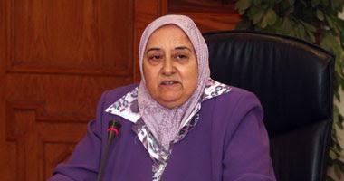 الدكتورة نجوى خليل وزيرة التأمينات