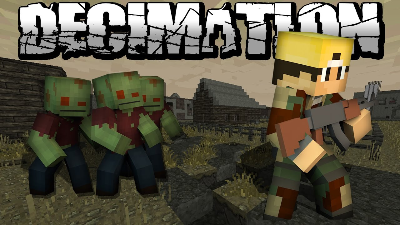 Minecraft Zombie Survival Mod 112.11212.12 - Muat Turun l