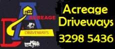 Acreage Driveways - Professionalism with that Personal Touch
