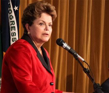 Dilma disse que se solidariza com às vítimas do desabamento do prédio no Rio  (Roberto Stuckert Filho/PR)
