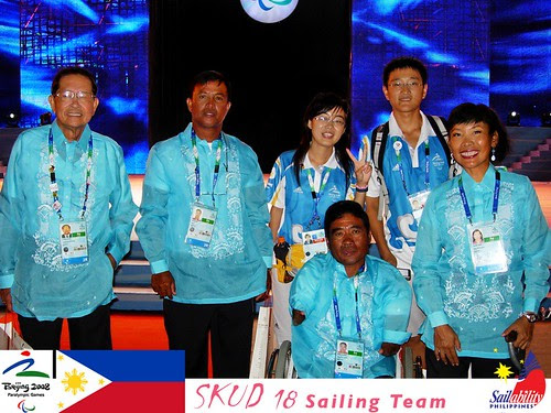 2008 Philippine Paralympic Sailing Team