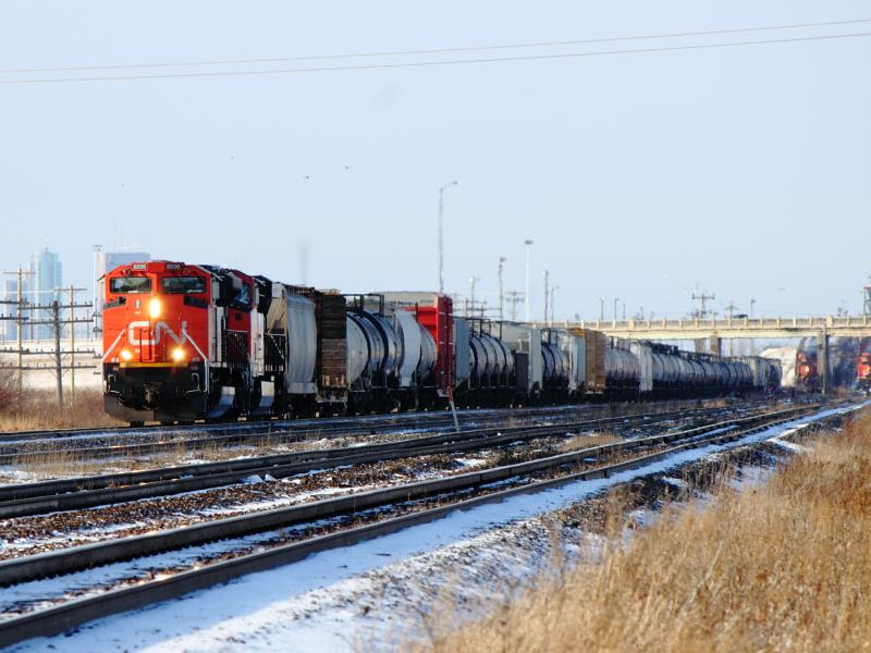 CN 8896 in Winnipeg