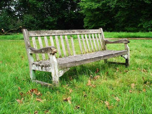 bench, west meadow, kenwood