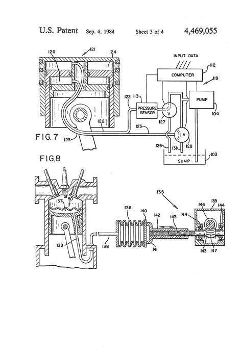 Patent US4469055 - Controlled variable compression ratio