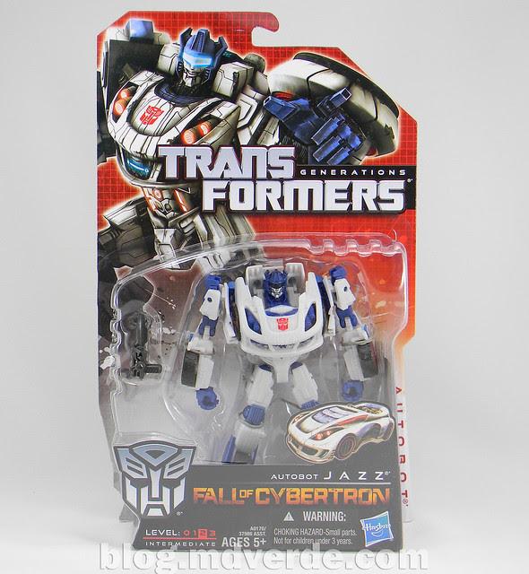 Transformers Jazz Deluxe - Generations FoC - caja
