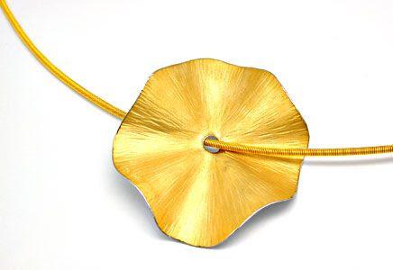 Foto 1, Original Niessing! Platin-Gold-Kollier Wert Shop Neuw.!, S8420