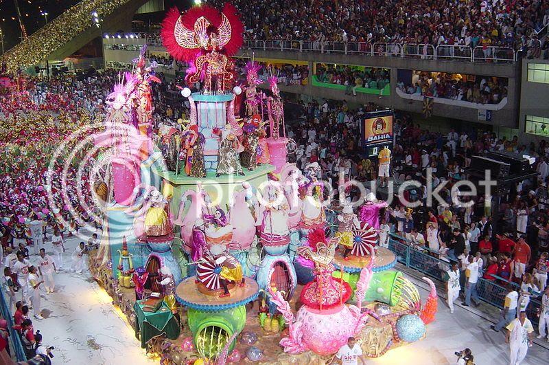 Popular Tourist destinations in Brazil