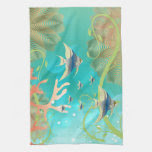 Under the Sea Water Design Towels