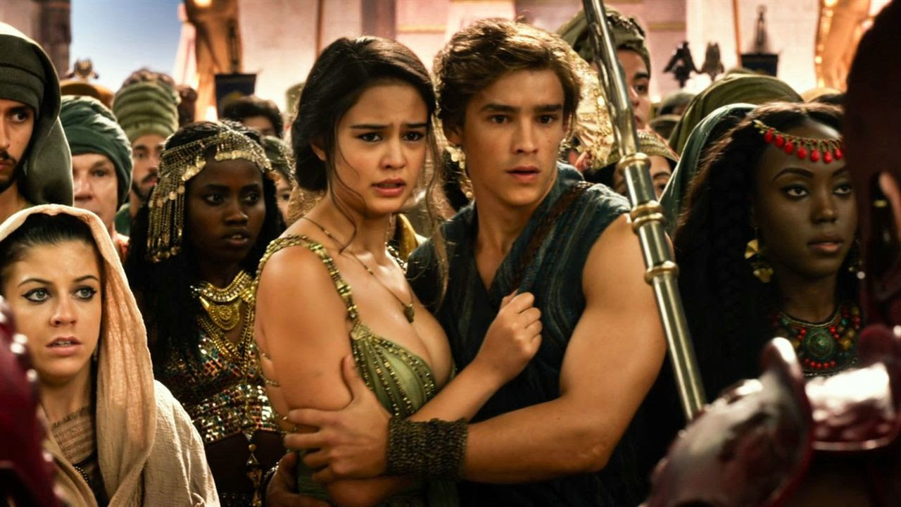 Deuses do Egito : Foto Brenton Thwaites, Courtney Eaton
