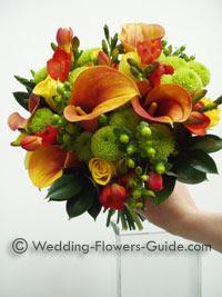 wedding flowers for october