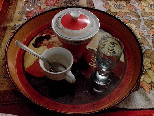 Fine cena un caffè e raki by Ylbert Durishti