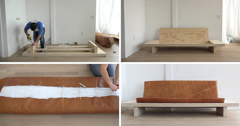 Learn How To Create Your Own DIY Modern Wood Couch With ...