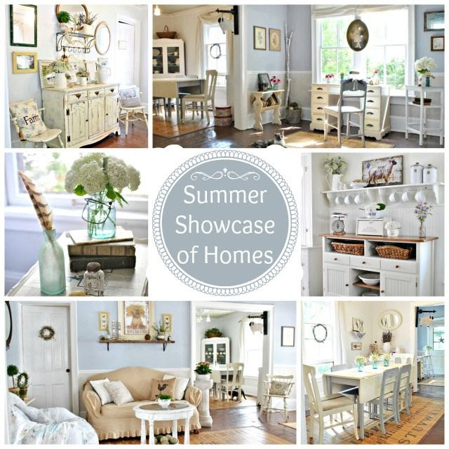 Town and Country Living Home Tour via www.town-n-country-living.com