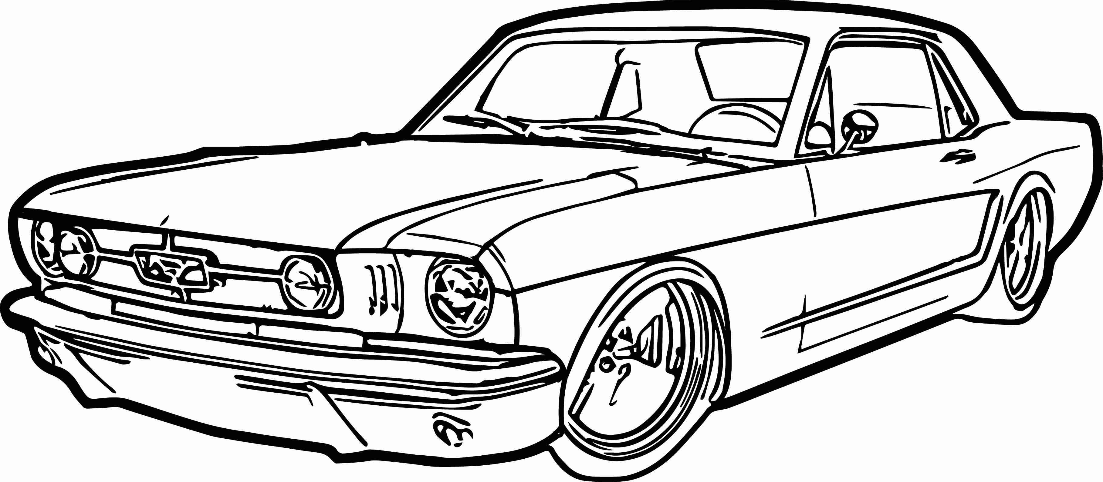 67 Mustang Coloring Pages at GetColorings.com | Free ...