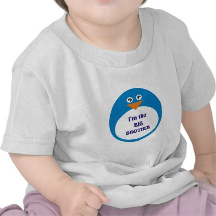Big Brother Penguin Tshirt