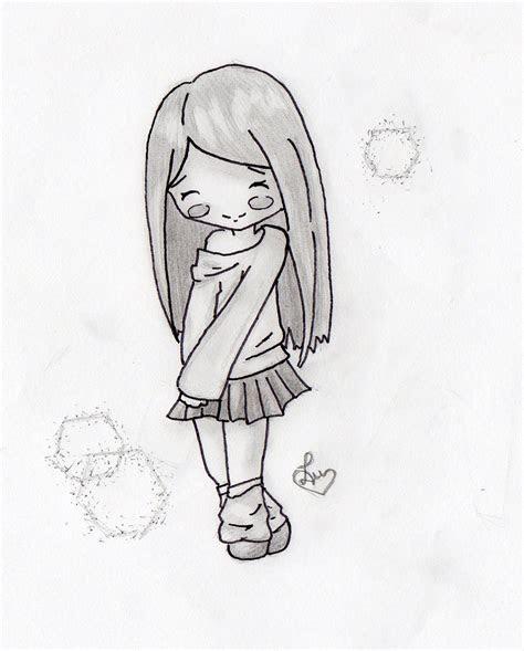 drawn chick chibi pencil   color drawn chick chibi