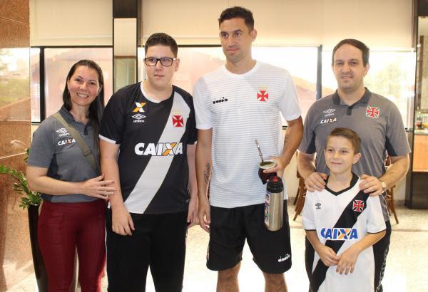 Cristiane, José Eduardo, Martín Silva, Everton e João Gabriel