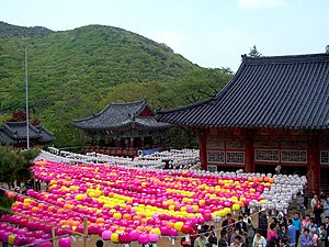Beomeosa, located in Busan and one of the lead...