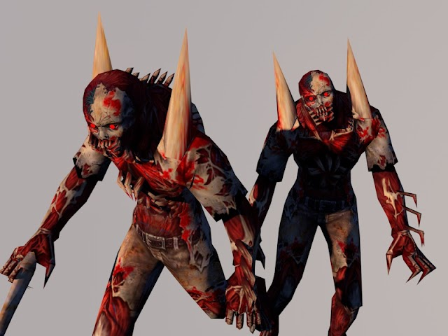 Player Model Carnage Zombie