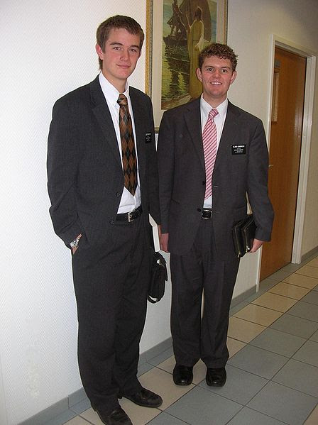 LDS missionaries (not the ones I met today)