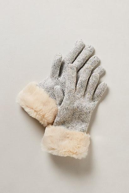 Trimmed Mazurka Gloves