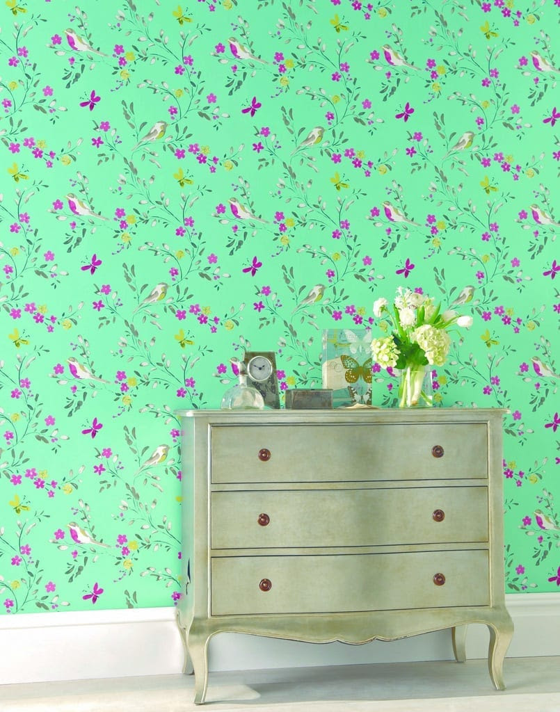 Wallpaper Wednesday NEXT Wallpaper Selection Love Chic Living