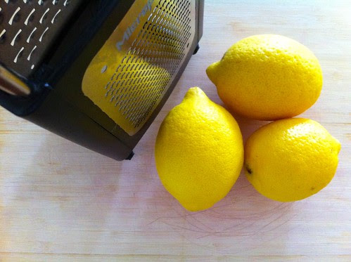 3 Lemons for Zesting