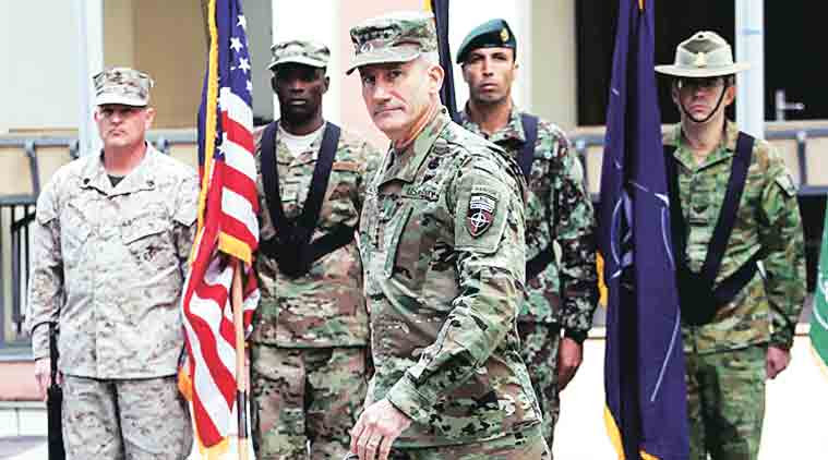 US looks to protect Afghan capital against Taliban bombings