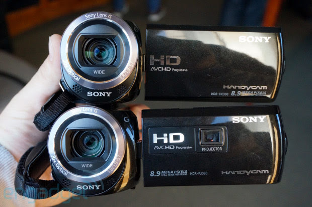 Sony Handycam CX380 and PJ380 offer boosted specs with a smaller footprint, we go handson