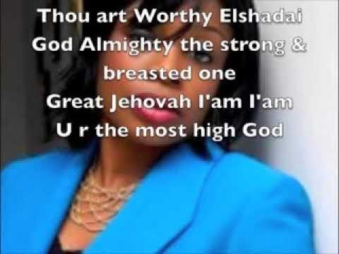 Sinach - Thou Art Worthy Lyrics + Video