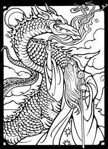 celtic dragon coloring pages at getcolorings  free