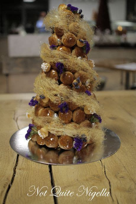 Step by Step Croquembouche Cake, Patisse, Sydney @ Not