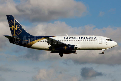 Nolinor Aviation Boeing 737-2B6C C-GNLN (msn 23050) YUL (Gilbert Hechema). Image: 911644.