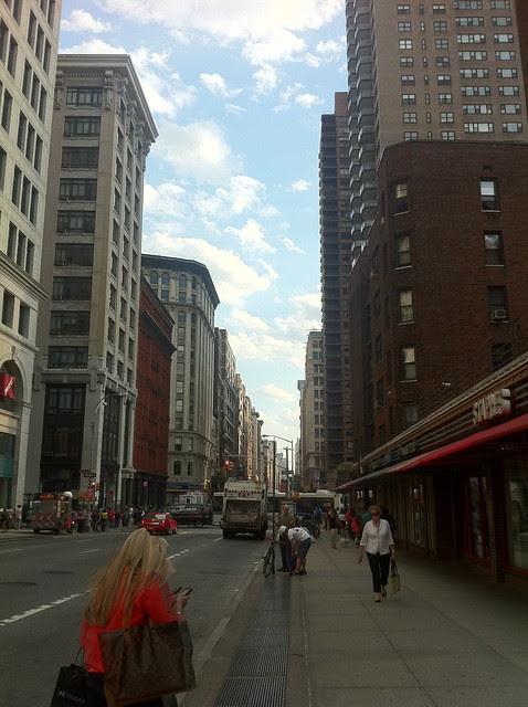 Broadway near E. 9th