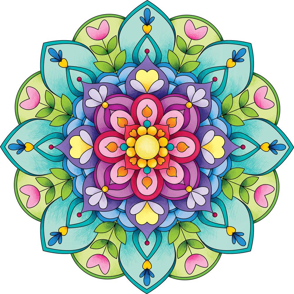 Hoy Pintamos Mandalas Capturando La Vida