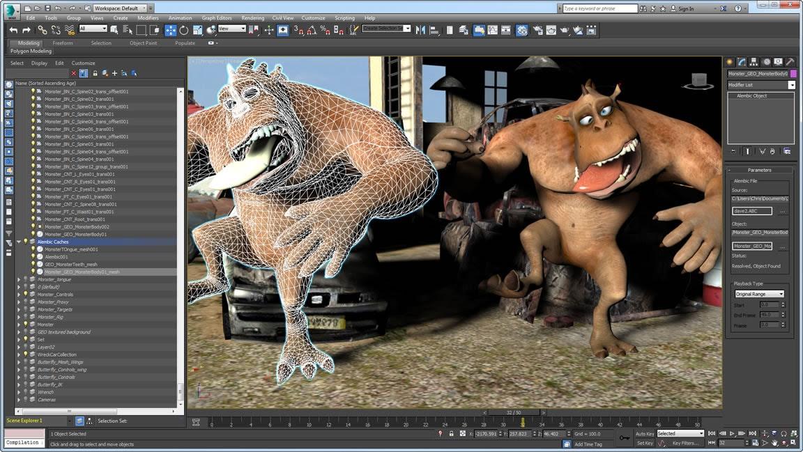 تحميل ثري دي ماكس 9 Autodesk 3ds Max لبيئة 32+64 بت كامل برابط مباشر