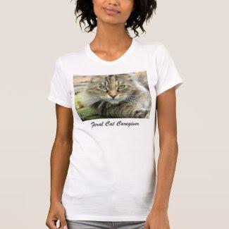 Feral Tabby Cat Caregiver T-Shrit T Shirts