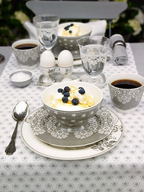 Unique gray lace dishes | Friday Favorites from www.andersonandgrant.com