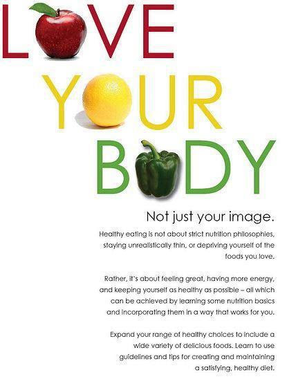 Love Your Body Not Just Your Image Stay Healthy Daily