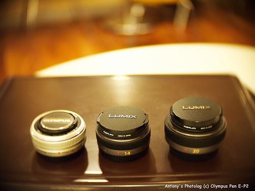 M43 Pack lens Family